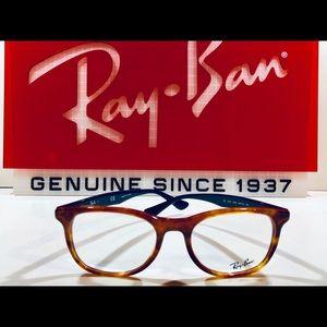 b36671ad325 Ray-Ban Accessories - Ray-Ban Eyeglasses Light Havana Brown w  Blue New